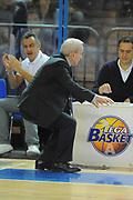 DESCRIZIONE : Cremona Lega A 2010-11 Vanoli Braga Cremona Armani Jeans Milano<br /> GIOCATORE : Dan Peterson<br /> SQUADRA :  Armani Jeans Milano<br /> EVENTO : Campionato Lega A 2010-2011 <br /> GARA : Vanoli Braga Cremona Armani Jeans Milano<br /> DATA : 09/11/2011<br /> CATEGORIA : ritratto delusione curiosita<br /> SPORT : Pallacanestro <br /> AUTORE : Agenzia Ciamillo-Castoria/GiulioCiamillo<br /> Galleria : Lega Basket A 2010-2011 <br /> Fotonotizia : Cremona Lega A 2010-11 Vanoli Braga Cremona Armani Jeans Milano<br /> Predefinita :