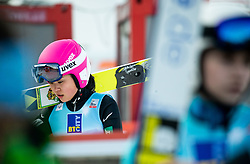 Yuka Seto of Japan during Team Competition at Day 2 of World Cup Ski Jumping Ladies Ljubno 2019, on February 9, 2019 in Ljubno ob Savinji, Slovenia. Photo by Matic Ritonja / Sportida