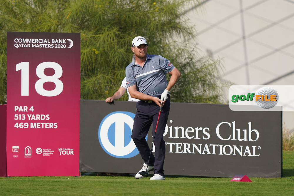 David Drysdale (SCO) during the third round of the Commercial Bank Qatar Masters 2020, Education City Golf Club , Doha, Qatar. 07/03/2020<br /> Picture: Golffile | Phil Inglis<br /> <br /> <br /> All photo usage must carry mandatory copyright credit (© Golffile | Phil Inglis)
