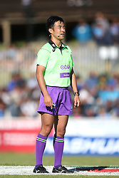 Referee Kubo Shuhei during the Currie Cup premier division match between the Boland Cavaliers and The Blue Bulls held at Boland Stadium, Wellington, South Africa on the 23rd September 2016<br /> <br /> Photo by:   Shaun Roy/ Real Time Images