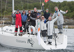 Clyde Cruising Club's Scottish Series 2019<br /> 24th-27th May, Tarbert, Loch Fyne, Scotland<br /> <br /> IRL2160, Chimaera, Royal Irish YC, IRC<br /> RC35 Class winner<br /> <br /> Credit: Marc Turner / CCC