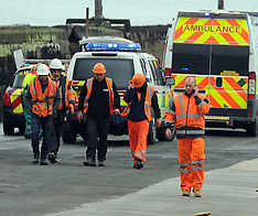 Police incident at Forth Rail Bridge | South Queensferry | 28 April 2016