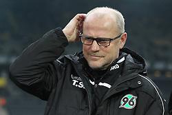 13.02.2016, Signal Iduna Park, Dortmund, GER, 1. FBL, Borussia Dortmund vs Hannover 96, 21. Runde, im Bild Thomas Schaaf (Trainer, Hannover 96) // during the German Bundesliga 21th round match between Borussia Dortmund and Hannover 96 at the Signal Iduna Park in Dortmund, Germany on 2016/02/13. EXPA Pictures © 2016, PhotoCredit: EXPA/ Eibner-Pressefoto/ Deutzmann<br /> <br /> *****ATTENTION - OUT of GER*****