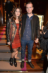 SAI BENNETT and SAM DOYLE at the opening of the exhibition 'My Mother Was A Reeler' at Etro, 43 Old Bond Street, London on 5th October 2016.