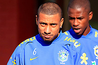 20090604: TERESOPOLIS, BRAZIL - Brazil National Team preparing match against Uruguay. In picture: Kleberson. PHOTO: CITYFILES