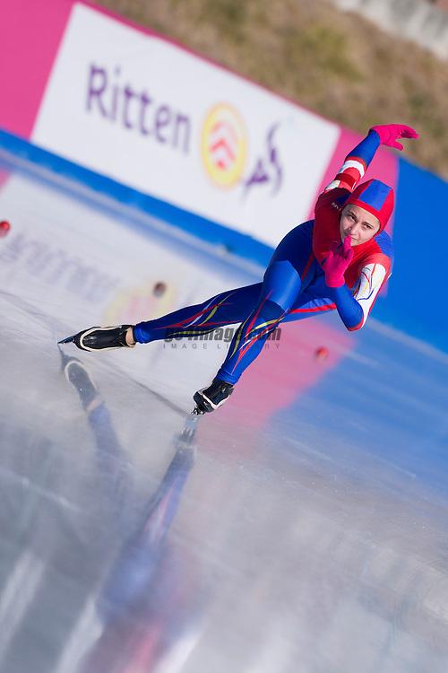 Speedskating in Collalbo Italy at Arena Ritten