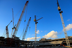 File photo dated 04-02-2017 of building works at the new Tottenham Hotspurs stadium next to White Hart Lane, London.