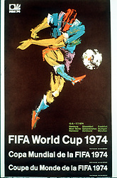 WORLD CUP OFFICIAL POSTER 1974