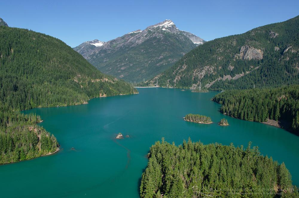 Diablo Lake, Ross Lake Recreation Area, North Cascades Washington.