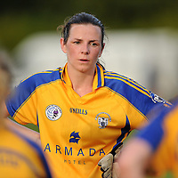 14 August 2010; A dejected Carmel Considine, Clare, after the game. TG4 Ladies Football All-Ireland Senior Championship Quarter-Final, Clare v Dublin, St Rynagh's, Banagher, Co. Offaly. Picture credit: Brendan Moran / SPORTSFILE *** NO REPRODUCTION FEE ***