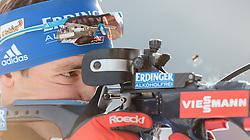 11.12.2015, Biathlonarena, Hochfilzen, AUT, BMW IBU Weltcup, Sprint, Herren, im Bild Simon Schempp (GER) // Simon Schempp of Germany during Mens Sprint of BMW IBU Biathlon World Cup at the Biathlonstadium in Hochfilzen, Austria on 2015/12/11. EXPA Pictures © 2015, PhotoCredit: EXPA/ JFK