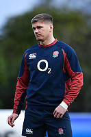 Rugby Union - 2020 Six Nations Championship - England Training Session & Press Conference pre-Ireland<br /> <br /> England's Owen Farrell, at Pennyhill Park Hotel.<br /> <br /> COLORSPORT/ASHLEY WESTERN