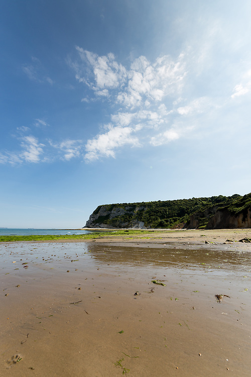 Landscape photography from Whitecliff Bay on the East coast of the Isle of Wight.