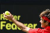 Tennis, Mens - Singles - Benneteau (FRA) vs Federer (SUI) [First Round]