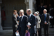 TIMOTHY TAYLOR; THE DUKE OF KENT;  Service of thanksgiving for  Lord Snowdon, St. Margaret's Westminster. London. 7 April 2017