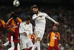 November 6, 2019, Madrid, Spain: Real Madrid CF's Isco Alarcon during the UEFA Champions League match between  Real Madrid and Galatasaray SK at the Santiago Bernabeu in Madrid. (Credit Image: © Manu Reino/SOPA Images via ZUMA Wire)