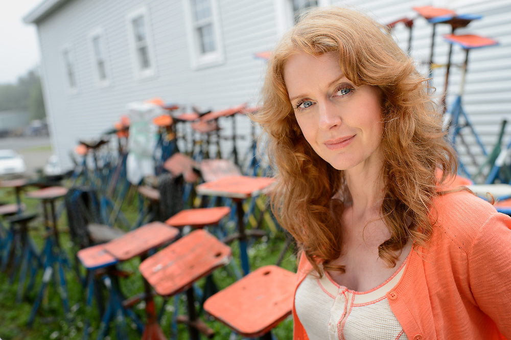 Actress and Model Amanda Barron Portrait Rockport Maine