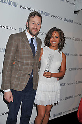 LENORA CRICHLOW and CHRIS O'DOWD at the Glamour Women of The Year Awards 2011 held in Berkeley Square, London W1 on 7th June 2011.