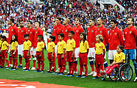 Football - 2018 FIFA World Cup - Group A: Russia vs. Saudi Arabia<br /> <br /> The Russia team are seen at the Luzhniki Stadium, Moscow.<br /> <br /> COLORSPORT/IAN MACNICOL