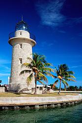 lighthouse (ornamental), .Boca Chita Key, .Biscayne National Park, Florida (Atlantic).