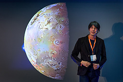 © Licensed to London News Pictures . 20/05/2015 . Manchester , UK . PROFESSOR BRIAN COX delivers the keynote speech at the Digital and Innovation Expo at the Manchester Central Exhibition Centre . Photo credit : Joel Goodman/LNP