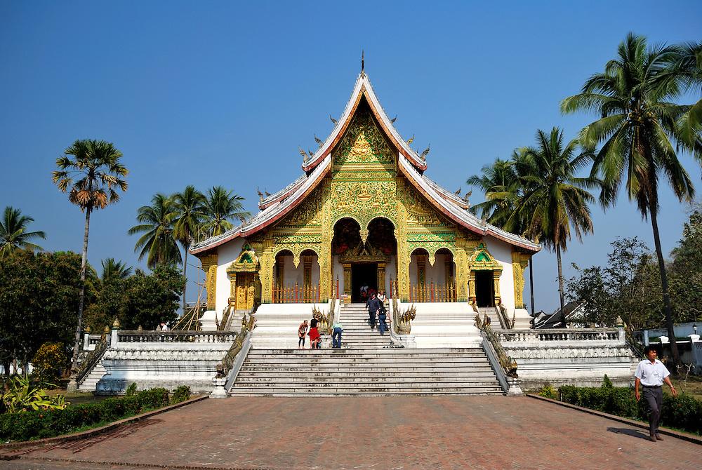 Haw Pha Bang, within the ground of the Royal Palace Museum of Luang Prabang.