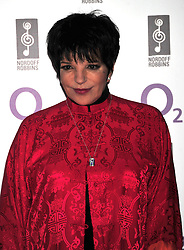 © licensed to London News Pictures. LONDON UK  01/07/11.Liza Minelli  attends the 2011 Silver Clef Awards held at the Hilton Park Lane in London. Please see special instructions for usage rates. Photo credit should read ALAN ROXBOROUGH/LNP