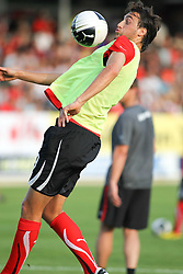 11.08.2010, Waldstadion Pasching, Pasching, AUT, UEFA U21 EM Qualifikation, Oesterreich vs Weissrussland, im Bild Atdhe Nuhiu,(Austria, Sturm, #09), EXPA Pictures © 2010, PhotoCredit: EXPA/ R. Hackl / SPORTIDA PHOTO AGENCY