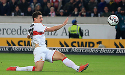 02.11.2018, 1. BL, VfB Stuttgart vs Eintracht Frankfurt, Mercedes Benz Arena Stuttgart, Fussball, Sport, im Bild:...Mario Gomez (VFB Stuttgart)..DFL REGULATIONS PROHIBIT ANY USE OF PHOTOGRAPHS AS IMAGE SEQUENCES AND / OR QUASI VIDEO...Copyright: Philippe Ruiz..Tel: 089 745 82 22.Handy: 0177 29 39 408.e-Mail: philippe_ruiz@gmx.de. (Credit Image: © Philippe Ruiz/Xinhua via ZUMA Wire)