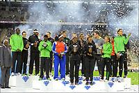 Friidrett<br /> IAAF Diamond League<br /> Brussel 16.09.2011<br /> Foto: PhotoNews/Digitalsport<br /> NORWAY ONLY<br /> <br /> Diamond League podium ceremony