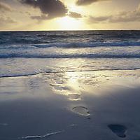 Fiji Islands, Yasawa Island, beach views, sunset