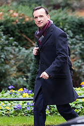 Downing Street, London, February 7th 2017. Welsh Secretary Alun Cairns arrives in Downing Street for the weekly UK cabinet meeting.