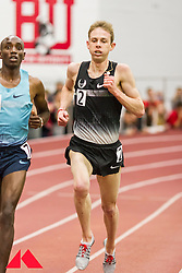 Galen Rupp set American record in 2-Mile at BU Terrier Classic Indoor Track, Bethwel Birgen steps aside to let Rupp go for the record,