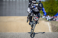 #247 (TE HIKO Brandon) AUS during practice of Round 3 at the 2018 UCI BMX Superscross World Cup in Papendal, The Netherlands