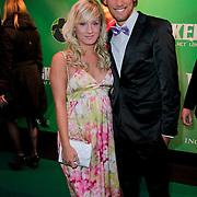 NLD/Scheveningen/20111106 - Premiere musical Wicked, Bart Boonstra en partner Djoeke Westdijk