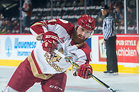 REGINA, SK - MAY 22: Liam Murphy #61 of Acadie-Bathurst Titan warms up against the Hamilton Bulldogs at the Brandt Centre on May 22, 2018 in Regina, Canada. (Photo by Marissa Baecker/CHL Images)