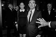 Mary McCartney; Simon Aboud; Ólafur Ragnar Grímsson; Dorit Grimsson, Alexander McQueen: Savage Beauty Gala, Victoria and Albert Museum, and A. 12th March 2015