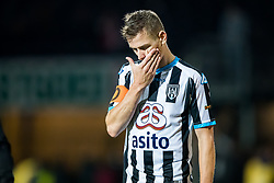 Tim Breukers of Heracles Almelo during the Dutch Eredivisie match between Heracles Almelo and Feyenoord Rotterdam at Polman stadium on September 09, 2017 in Almelo, The Netherlands