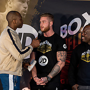 NLD/Rotterdam/20200224 - Stare down Boxing Influencers 2020, Steven Brunswijk en Sidney Bout