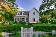 Historic 1867 home on John Street was renovated and enlarged in 2005, Sag Harbor, NY