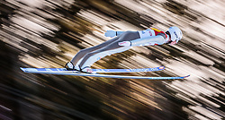 29.01.2016, Casino Arena, Seefeld, AUT, FIS Weltcup Nordische Kombination, Seefeld Triple, Skisprung, Wertungssprung, im Bild Jarl Magnus Riiber (NOR) // Jarl Magnus Riiber of Norway competes during his Competition Jump of Skijumping of the FIS Nordic Combined World Cup Seefeld Triple at the Casino Arena in Seefeld, Austria on 2016/01/29. EXPA Pictures © 2016, PhotoCredit: EXPA/ JFK