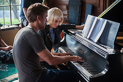 RELEASE DATE: March 17, 2017 TITLE: Song To Song STUDIO: Broad Green Pictures DIRECTOR: Terrence Malick PLOT: Two intersecting love triangles. Obsession and betrayal set against the music scene in Austin, Texas. STARRING: RYAN GOSLING as BV, ROONEY MARA as Faye. (Credit Image: © Broad Green Pictures/Entertainment Pictures/ZUMAPRESS.com)