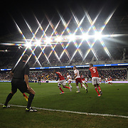 Action during the New York Red Bulls V Toronto FC  Major League Soccer regular season match at Red Bull Arena, Harrison. New Jersey. USA. 29th September 2012. Photo Tim Clayton