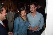 REBECCA HOFFNUNG; FRANCIS BOULLE, The Gentleman's Journal Autumn Party, in partnership with Gieves and Hawkes- No. 1 Savile Row London. 3 October 2013