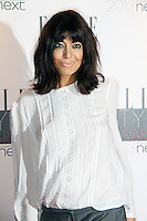 Claudia Winkleman, ELLE Style Awards, The Savoy Hotel London UK, 11 February 2013, (Photo by Richard Goldschmidt)