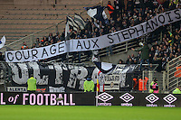SUPPORTERS Bordeaux  - 13.12.2014 - Nantes / Bordeaux - 18eme journee de Ligue1<br />
