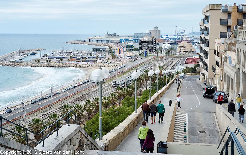 Kuststrook bij Tarragona - Coastal strip of Tarragona