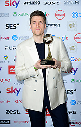 Greg James attending the TRIC Awards 2019 50th Birthday Celebration held at the Grosvenor House Hotel, London.