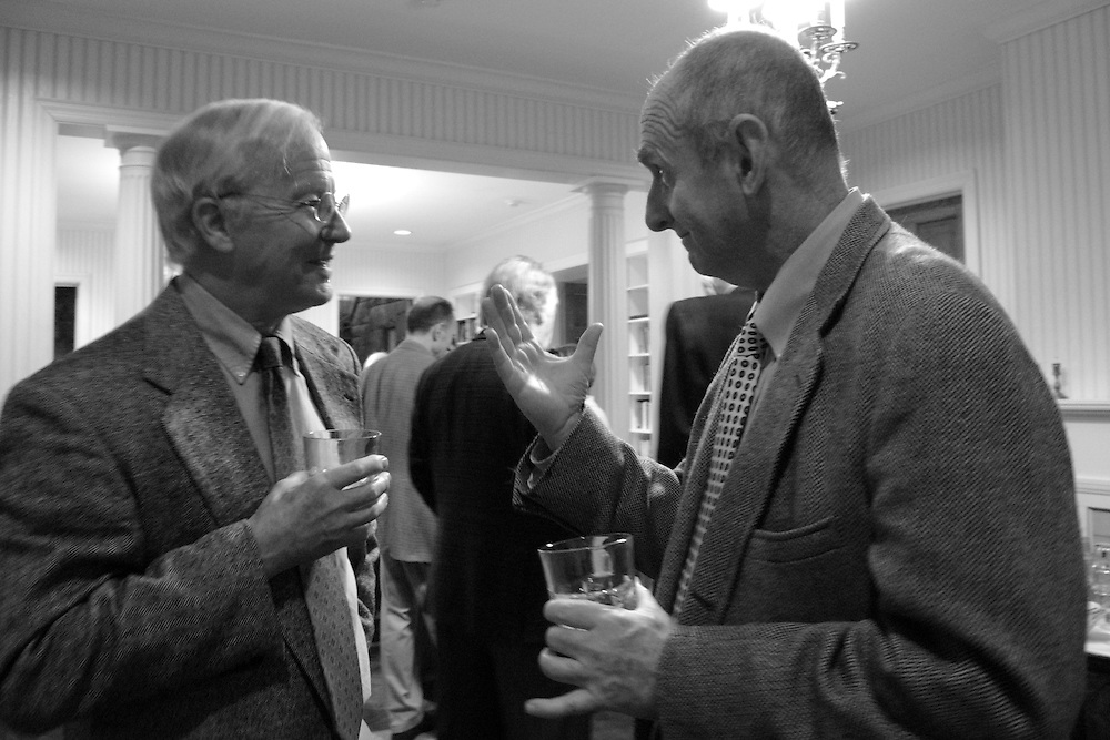 William Clarkson and Dale Richardson, professors of English at Sewanee: the University of the South.
