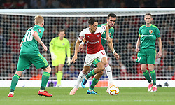 September 20, 2018 - London, England, United Kingdom - Arsenal's Mesut Ozil.during UAFA Europa League Group E between Arsenal and FC Vorskla Poltava at Emirates stadium , London, England on 20 Sept 2018. (Credit Image: © Action Foto Sport/NurPhoto/ZUMA Press)